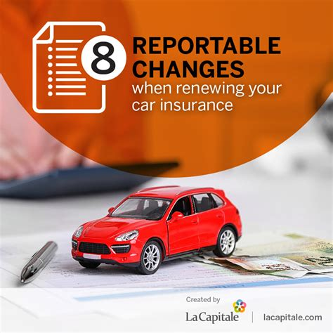 La Car Insurance by 8 Reportable Changes When Renewing Your Car Insurance La