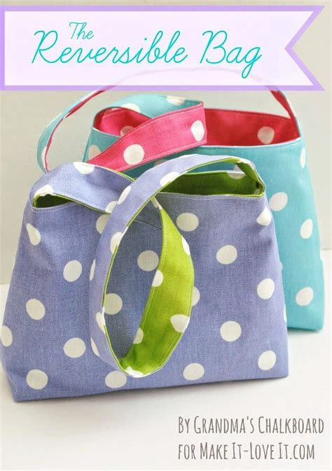 making it lovely the reversible bag for kids make it and love it