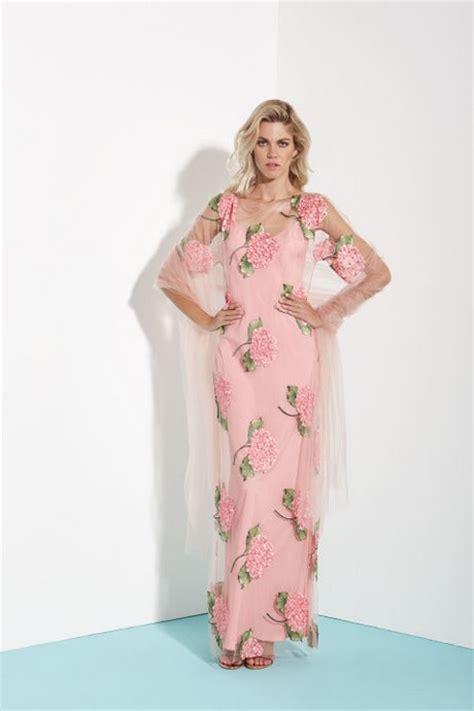 abito da sposa a fiori abiti a fiori 2017
