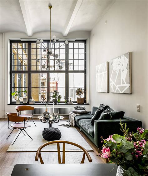 scandinavian apartment chic scandinavian apartment in a former brewery digsdigs