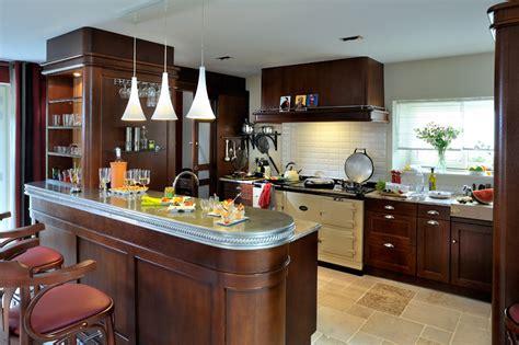 cuisine de bistrot un style 100 bistrot pour un espace cuisine cr 201 201 de toute