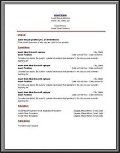 Chronological Resume Sample Format – Chronological Resume   The Working Centre