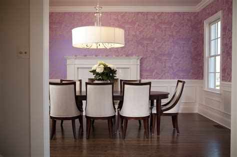Wainscoting in Dining Room Contemporary Dining Room