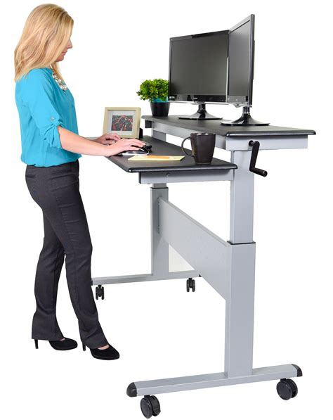 desk stand fantastic standing desks healthy office furniture stand