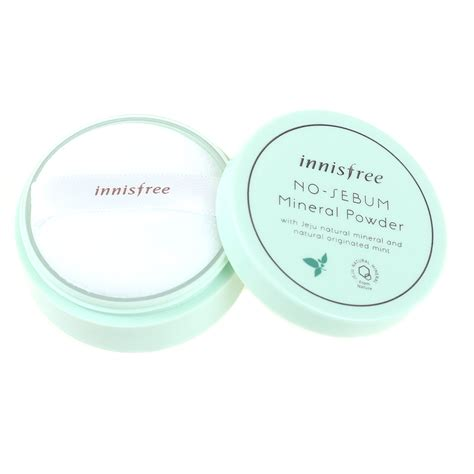 Harga Innisfree No Sebum Primer innisfree no sebum mineral powder elevenia