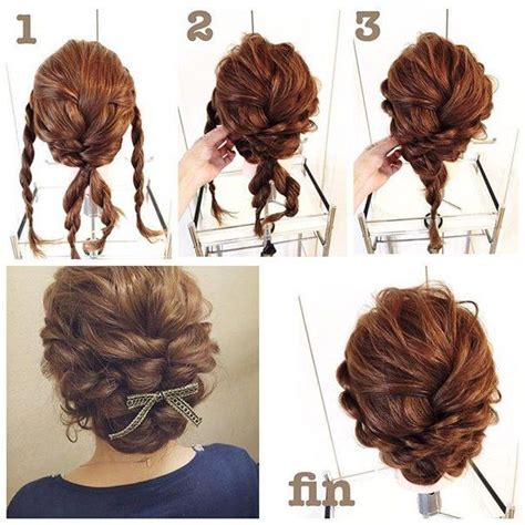 Hairstyles For Medium Hair Updos Easy Step By Step by Easy And Simple Step By Step Hairstyles For Medium Hairs