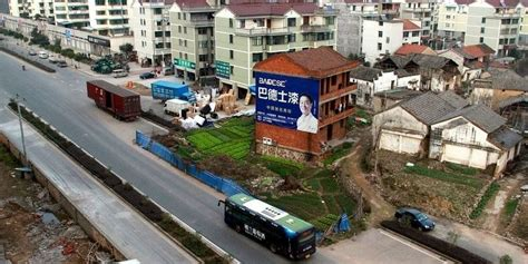 Nail House by The Toughest Nail Houses Of China Amusing Planet