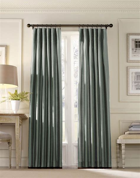 Drapes For Dining Room How To Make And Install The Inverted Pleat Drapes Homesfeed