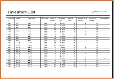 Tool Inventory Spreadsheet by 5 Tool Inventory Spreadsheet Excel Spreadsheets