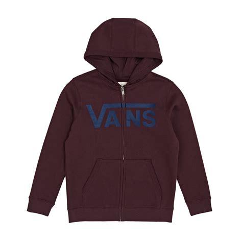 Hoodie Vans 2 vans boy s classic zip hoody port royale dress blues