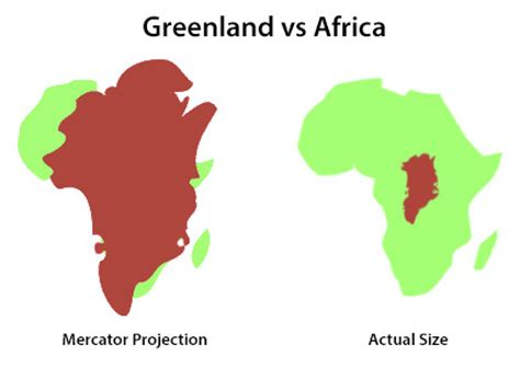 africa map distortion this is why the most popular map of the world is
