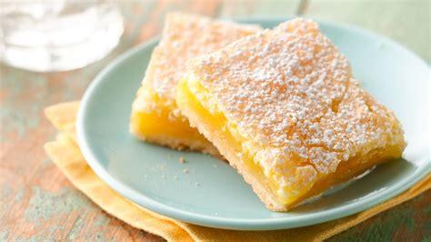 Luscious Lemon Squares Recipe - BettyCrocker.com Lemon Dessert Bars