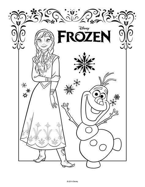 frozen coloring pages momjunction disegni da colorare di frozen da stare gratis anna e