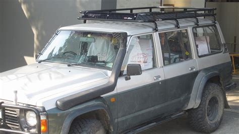 Roof Rack Patrol by Nissan Patrol Gq Roof Racks