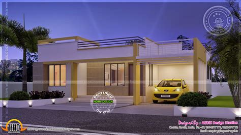 single floor house plans india flat roof single floor house model house photos in indian