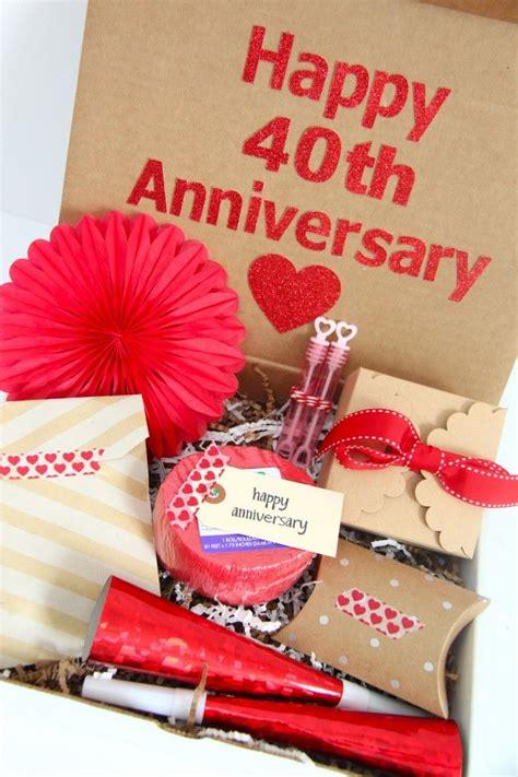 best 25 40th anniversary gifts ideas on 40th wedding anniversary gift ideas diy