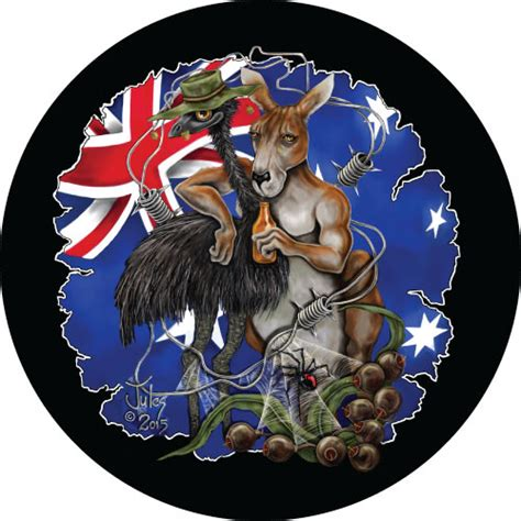australian coat of arms tattoo designs aussie mates