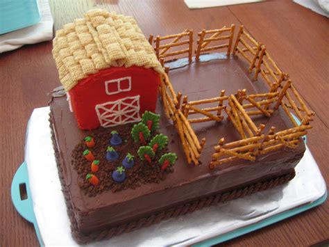 farm barn cake derek 4h on farm cake vegetable garden cake