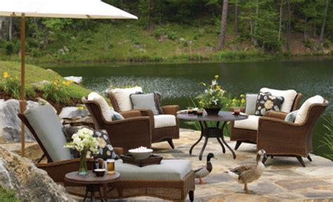 Patio Furniture And Decor 6 Outdoor Wicker Furniture Ideas