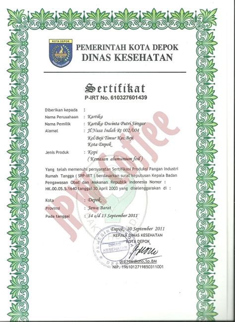Kopi Arabika Honey Processed Blend Gayo Honey Java Preanger Kp14 sertifikasi specialty coffee indonesia jpw coffee