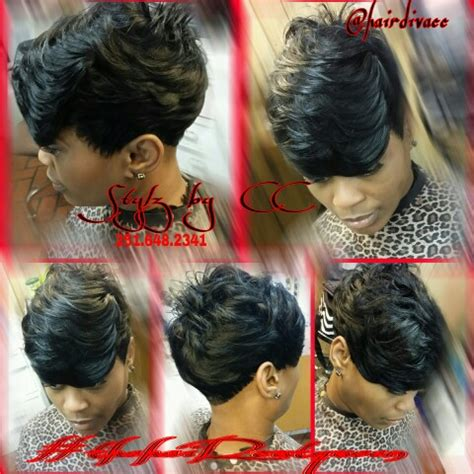 black 27 piece hairstyles quickweave short 27pc black women short cuts pinterest