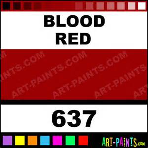 what color is the blood in your blood classic acrylic paints 637 blood paint