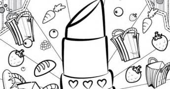 lippy coloring page free lippy shopkins coloring pages