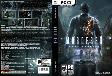 Pc Murdered Soul Suspect murdered soul suspect xbox 360 front cover id90296 covers resource