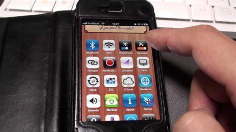 iphone裏技 wi fiやbluetoothを一発で切り換える