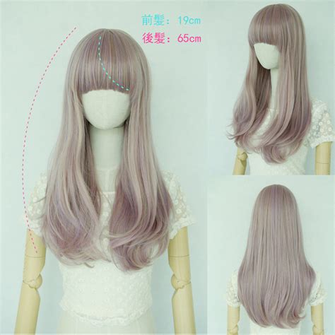 brightlele wig  ton natural extensions long full wig