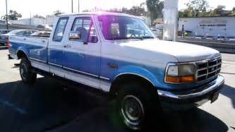 Www Owner Ford 1 Owner Ford 1992 F 250 Xlt Xtra Cab 4x4 460 Truck