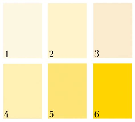 benjamin moore yellows colory theory best yellows mcgrath ii blog