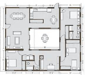 courtyard house dream house plans when you buy that