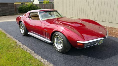 1971 corvette restoration 1971 corvette stingray 454 complete frame restoration