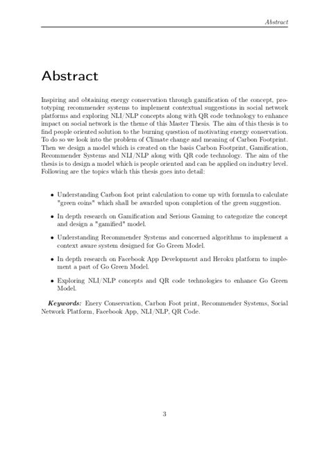 graduate thesis abstract master thesis