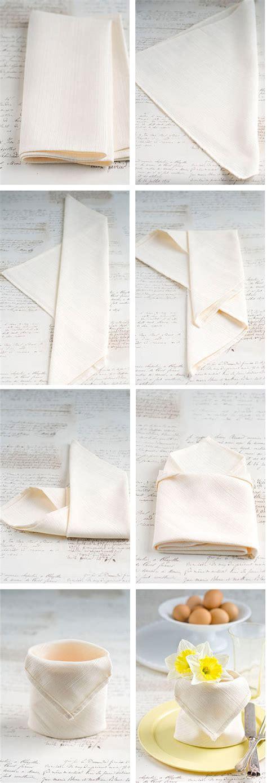 Paper Napkin Folding Techniques - the top 15 napkin folding techniques every restaurant