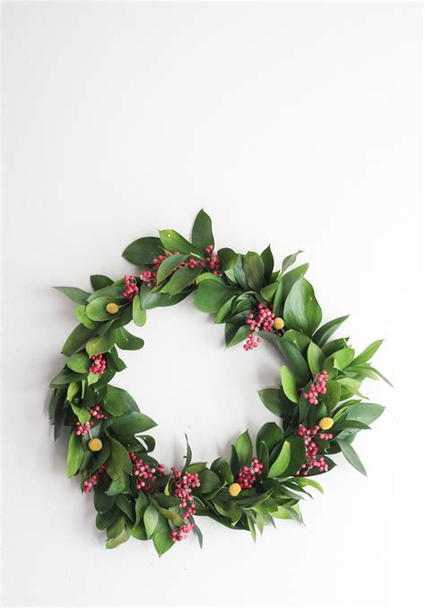 holiday wreath non traditional holiday wreath the crafted life