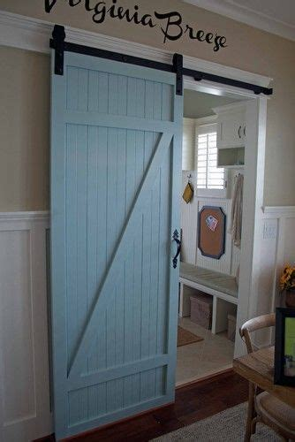 Laundry Room Barn Doors Crafty Homes Make Special Barn Door Laundry Room