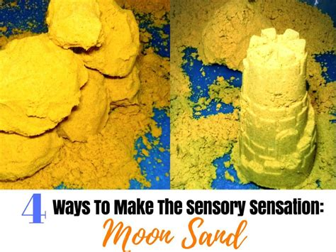 colored kinetic sand colored and scented moon sand recipes for a healthy diy