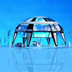 tech for the home antarctic living a space house for an icy land