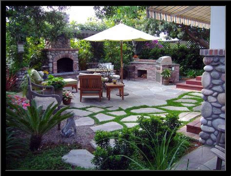 backyard grill area ideas split level house backyard modern house