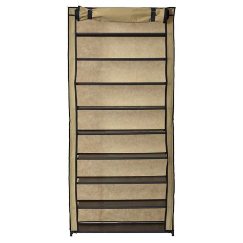 shoe storage with cover rack shoe organizer with cover 30 pair src10l tn