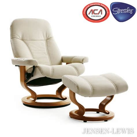 stress less recliner the consul stressless recliner chair from ekornes jensen