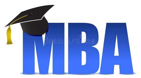 Available For Mba Graduates by Mba Graduation Tassel Hat Stock Illustration Illustration