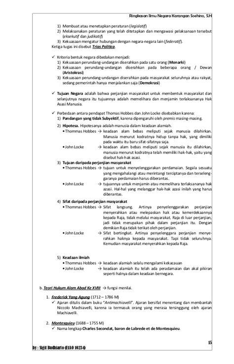 membuat resume artinya resume buku ilmu negara karangan soehino