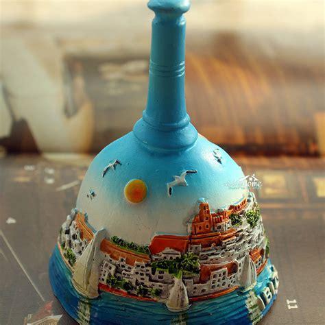 Souvenir Magnet Kulkas 1 ibiza spain tourist travel souvenir bell shaped 3d