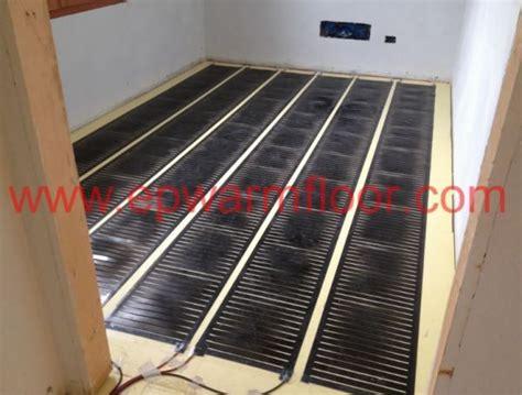pannelli radianti elettrici a pavimento riscaldamento elettrico a pavimento a 24 volt di ep