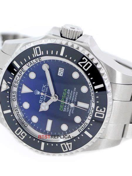 Rolex Seadweller Deepsea D Blue V7 Real Clone 3135 replica rolex sea dweller deepsea d blue ceramic bezel