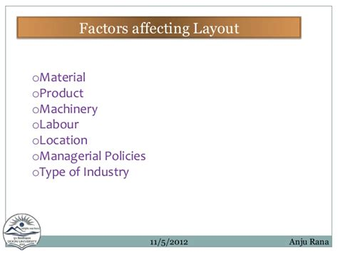 facility layout optimization ppt facility layout ppt