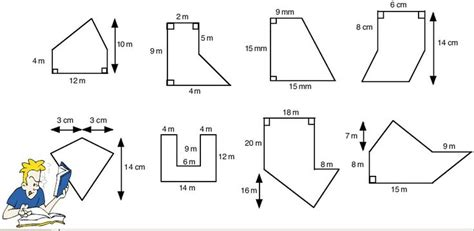Area Of Composite Figures Worksheet by Area Of Polygons Worksheets Free Calculating The Area Of
